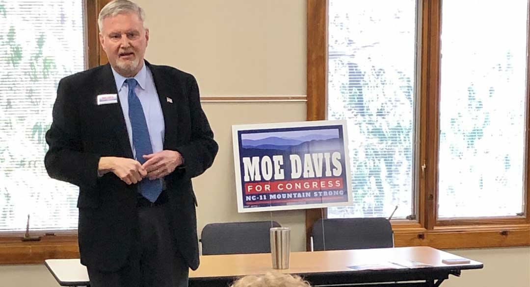 Moe Davis speaking