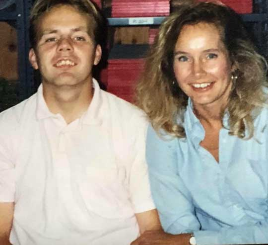 Sally Burton-Hoyle brother Tim