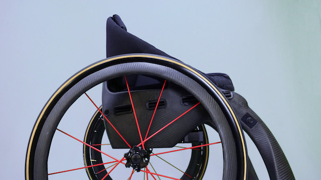 The phoenix I wheelchair, a ultra-light carbon fibre wheelchair