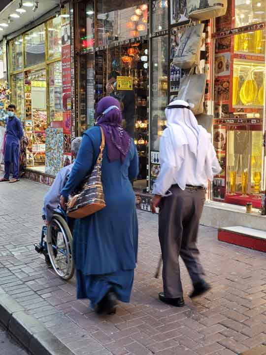 Dubai is easy for wheelchair user