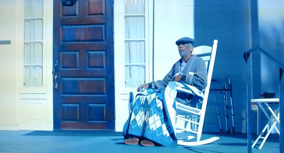 CJ Jones in the movie Baby Driver