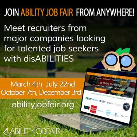 ABILITY Job Fair