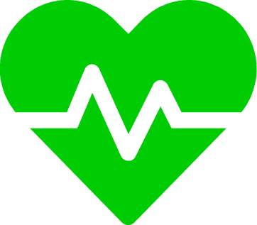 heart icon green