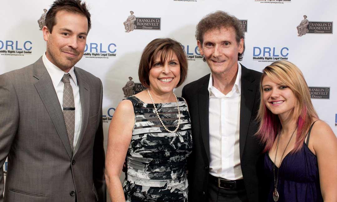 Kurt Yaeger, Paula Pearlman, Chet Cooper and Ashley Fiolek, DRLC Honorees