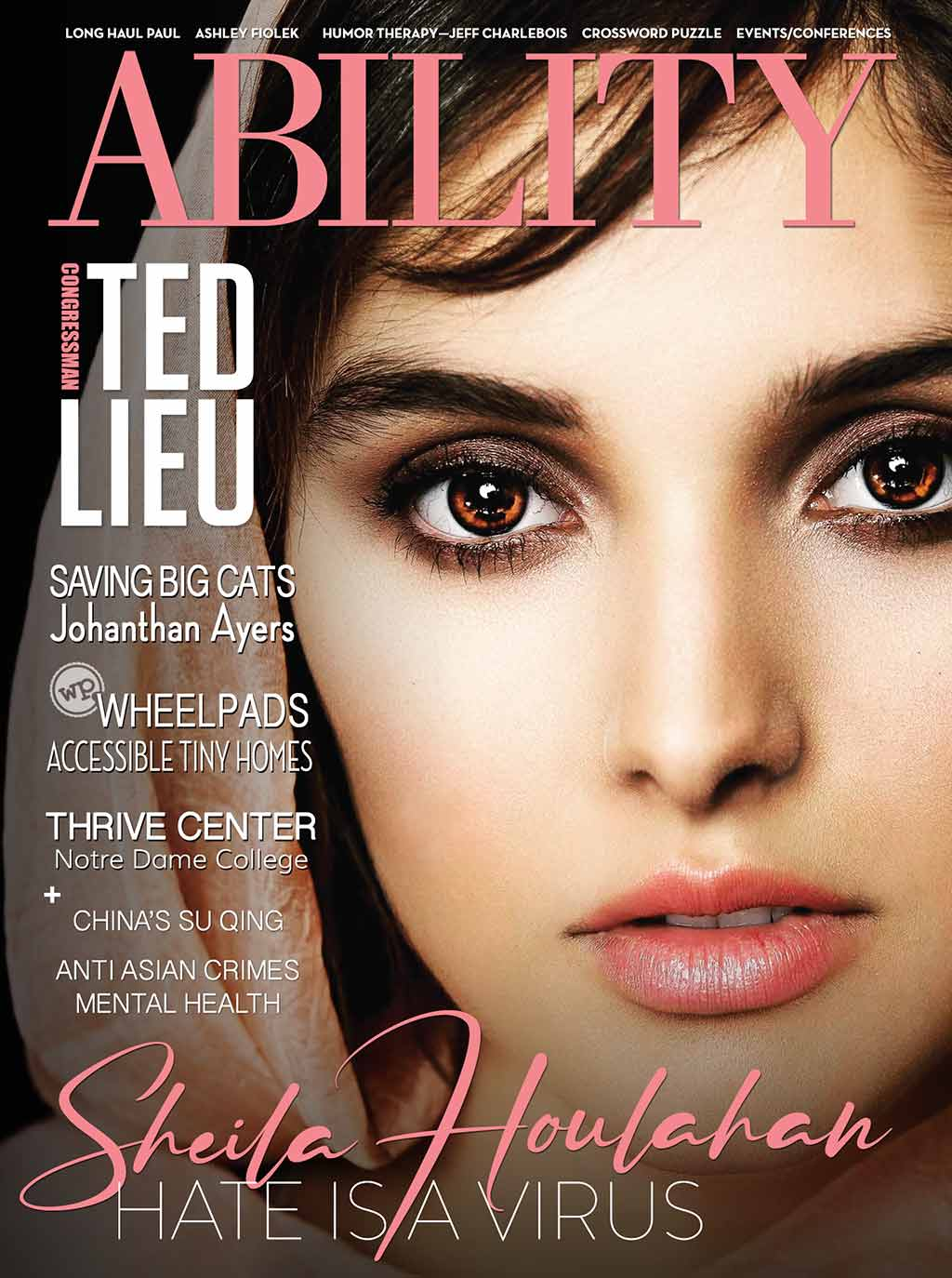 ABILITY Magazine Sheila Houlahan Cover