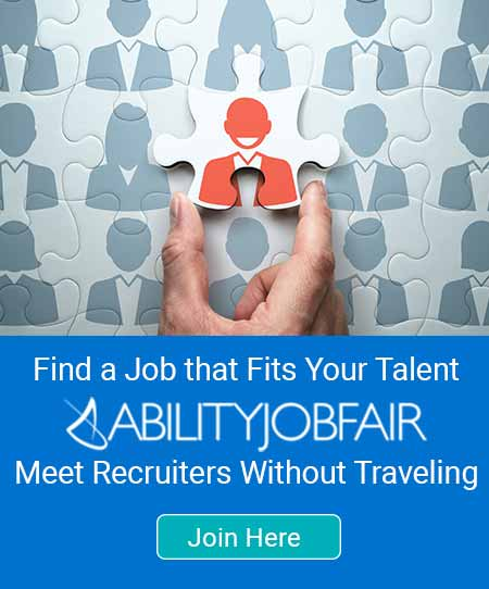 ABILITY Job Fair find a job that fits your talent